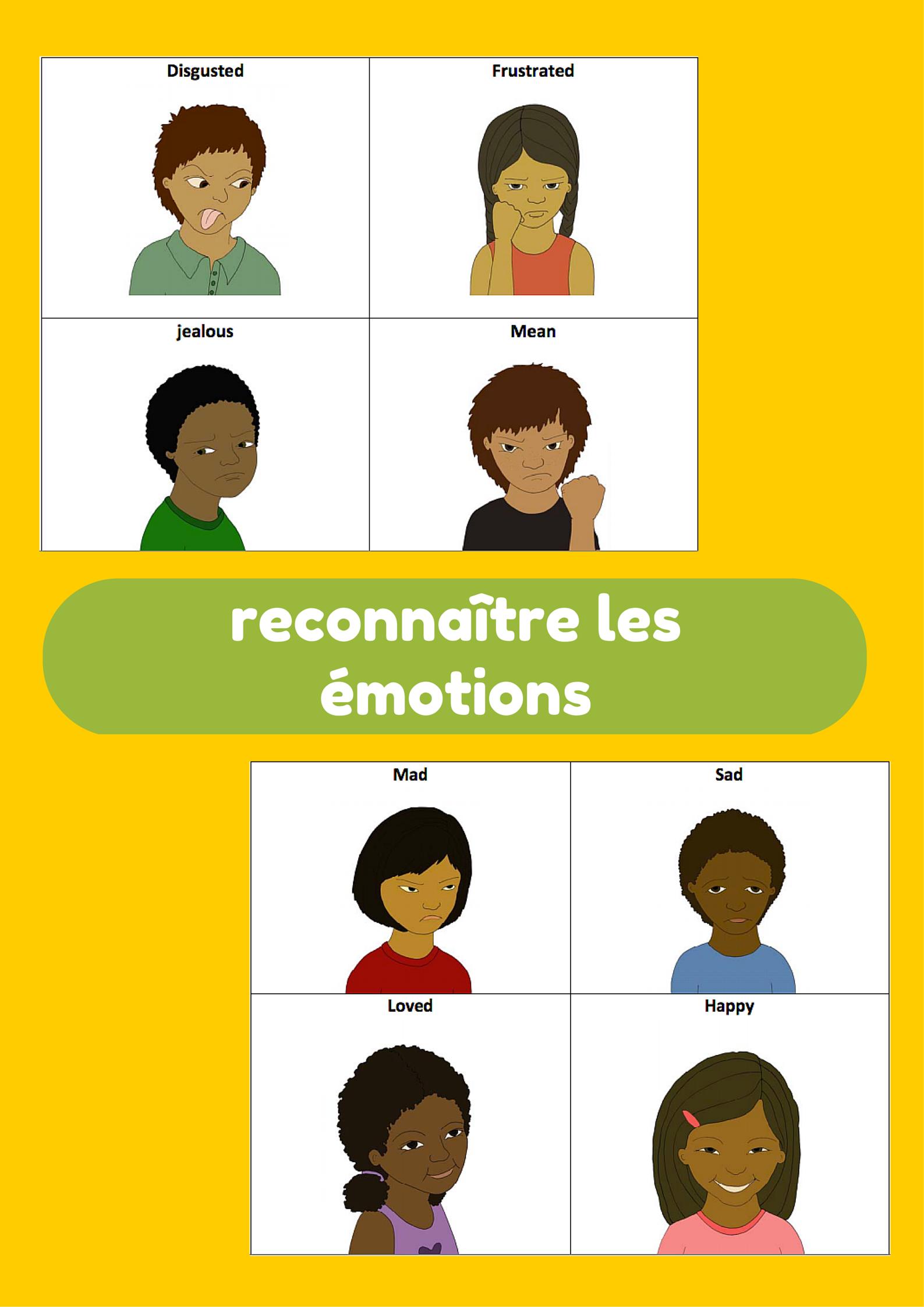 Le Vocabulaire Des émotions Mon Cahier Décolier